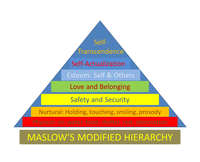 Home. Maslow's Modified Hierarchy